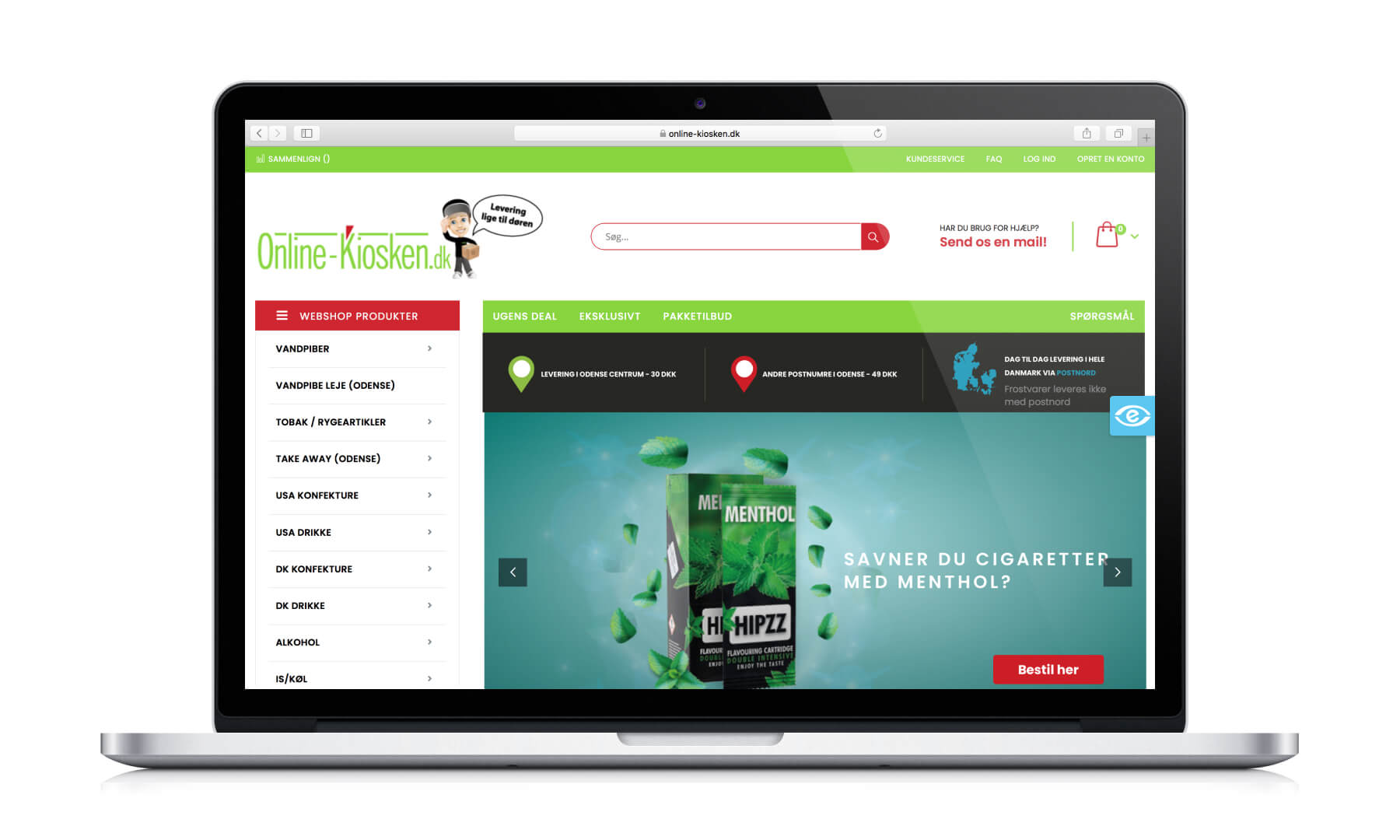 Online Kiosken
