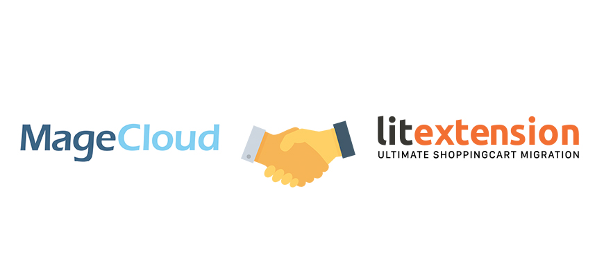 MageCloud Partners with LitExtension – Get 20% Discount for Their Shopping Cart Migration Services