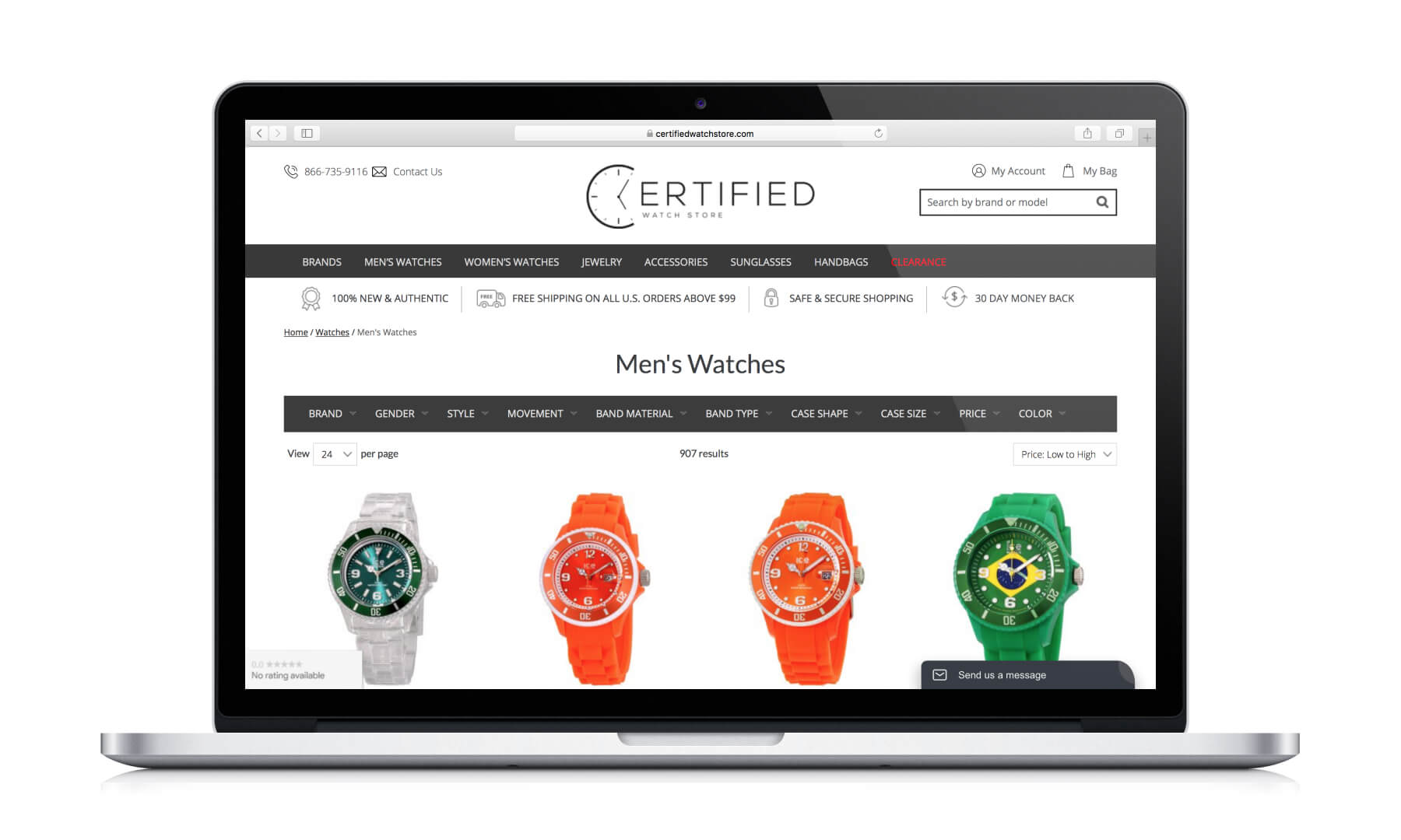 Certified Watch Store<